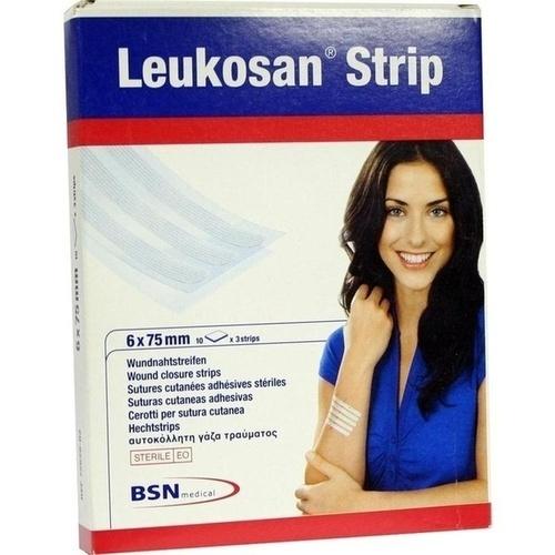 Leukosan Strip 6x75mm, 10X3 ST, Bsn Medical GmbH
