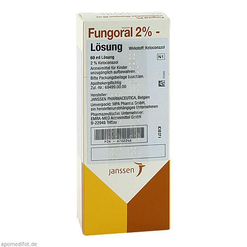 Fungoral 2%-Lösung, 60 ML, Emra-Med Arzneimittel GmbH