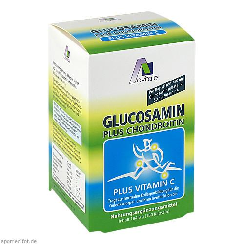 Glucosamin 750/100mg Kapseln, 180 ST, Avitale GmbH