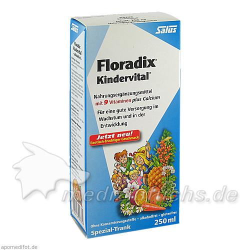 FLORADIX Kindervital Tonikum Salus, 250 ML, Salus Pharma GmbH