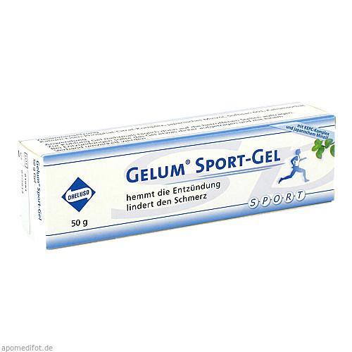 Gelum Sport-Gel, 50 G, Dreluso-Pharmazeutika Dr.Elten & Sohn GmbH