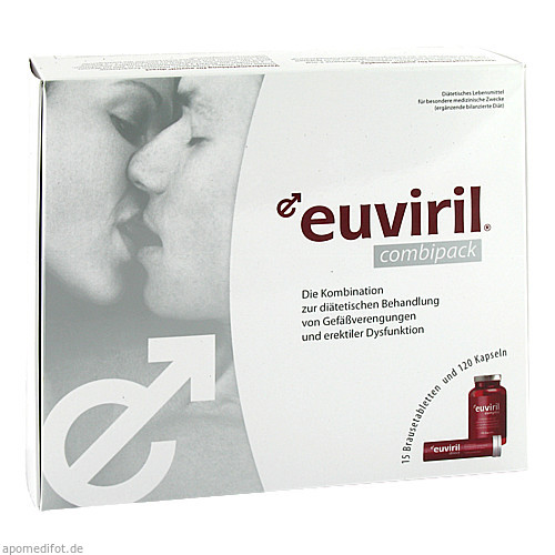 Euviril COMBIPACK (Kapseln+Brausetabl.), 1 P, Sanimamed Europe Health S.R.L.