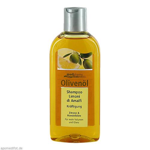 OLIVENÖL Shampoo limoni di Amalfi Kräftigung, 200 ML, Dr. Theiss Naturwaren GmbH