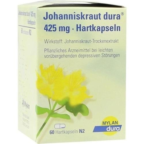 Johanniskraut dura 425mg Hartkapseln, 60 ST, Mylan dura GmbH