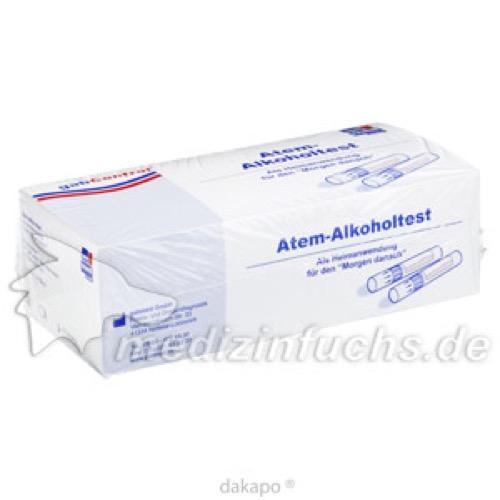 Alkoholtest Atem, 10 ST, Gabmed GmbH