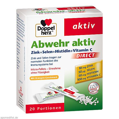 Doppelherz Abwehr aktiv direct Zink+Selen+Histidin, 20 ST, Queisser Pharma GmbH & Co. KG