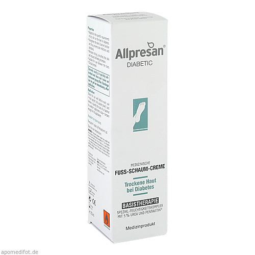 Allpresan diab Fuss Basis, 125 ML, Neubourg Skin Care GmbH