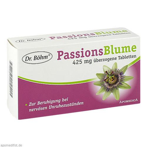 Dr. Böhm Passionsblume 425mg Dragees, 60 ST, Apomedica Pharmazeutische Produkte GmbH