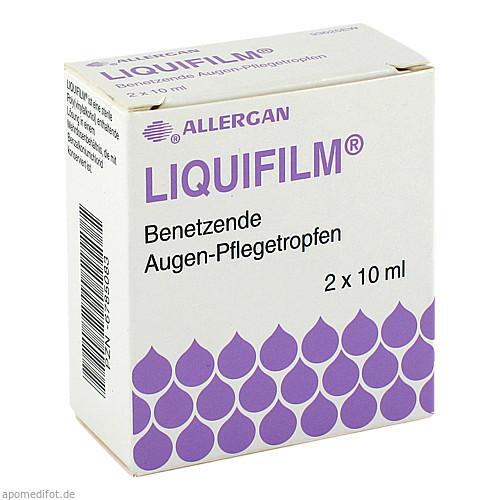 Liquifilm Benetzende Augen-Pflegetropfen, 2X10 ML, Allergan Pharmaceuticals Ireland