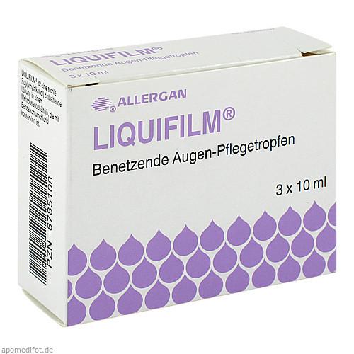 Liquifilm Benetzende Augen-Pflegetropfen, 3X10 ML, Allergan Pharmaceuticals Ireland