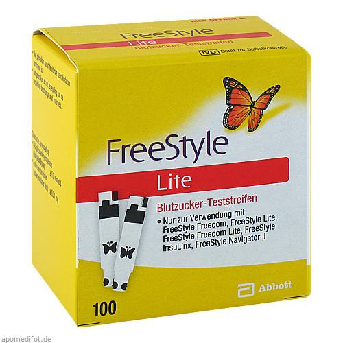 FREESTYLE Lite Teststreifen ohne Codieren, 100 ST, Medi-Spezial