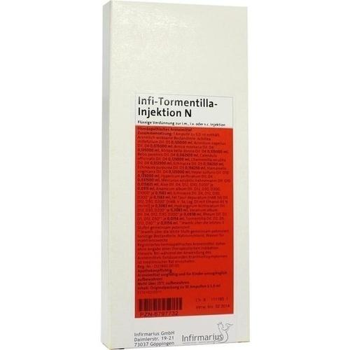 Infi-Tormentilla-Injektion N, 10X5 ML, Infirmarius GmbH