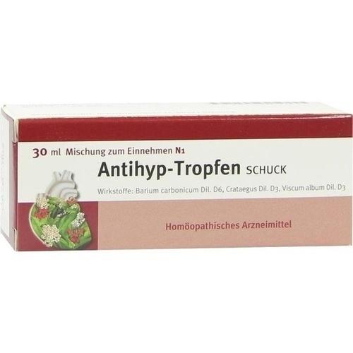 Antihyp Tropfen Schuck, 30 ML, Schuck GmbH Arzneimittelfabrik