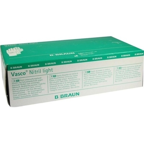 VASCO NITRIL LIGHT UH S, 100 ST, B. Braun Melsungen AG