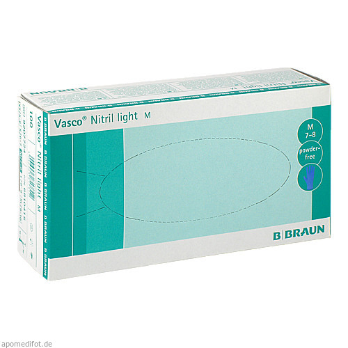 VASCO NITRIL LIGHT UH M, 100 ST, B. Braun Melsungen AG