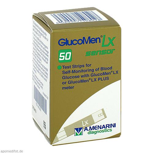 GlucoMen LX Sensor Teststreifen, 50 ST, Eurimpharm Arzneimittel GmbH