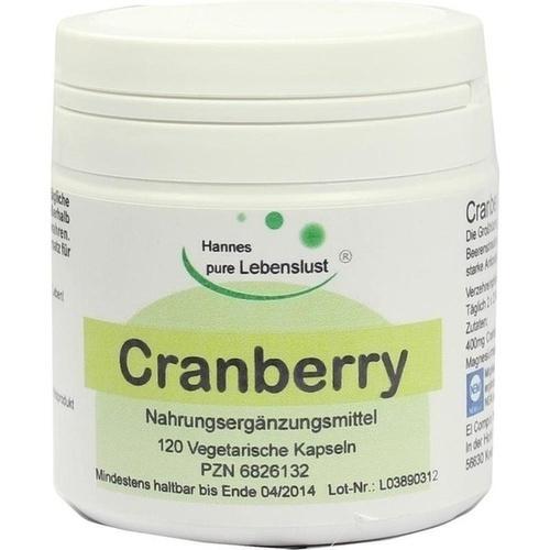 Cranberry, 120 ST, G & M Naturwaren Import GmbH & Co. KG