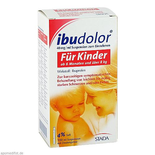 Ibudolor 40mg/ml Suspension zum Einnehmen, 100 ML, STADA GmbH