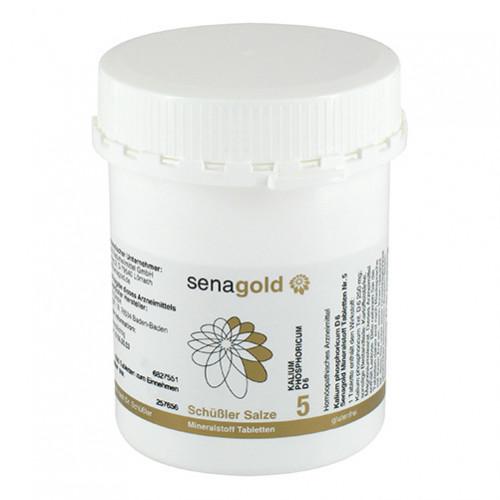 Biochemie Senagold Nr. 5 Kalium phosphoricum D 6, 1000 ST, Senagold Naturheilmittel GmbH