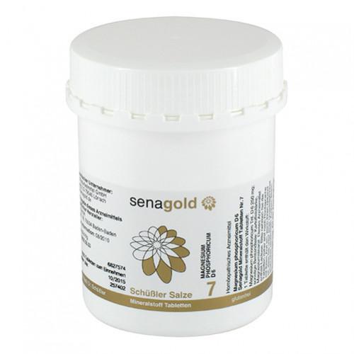 Biochemie Senagold Nr. 7 Magnesium phos. D 6, 1000 ST, Senagold Naturheilmittel GmbH