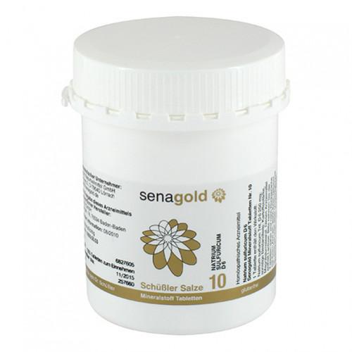 Biochemie Senagold Nr. 10 Natrium sulfuricum D 6, 1000 ST, Senagold Naturheilmittel GmbH
