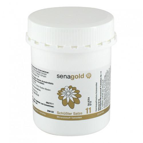 Biochemie Senagold Nr. 11 Silicea D 12, 1000 ST, Senagold Naturheilmittel GmbH
