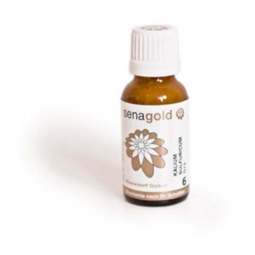 Biochemie Senagold Nr. 6 Kalium sulfuricum D 6, 20 G, Senagold Naturheilmittel GmbH