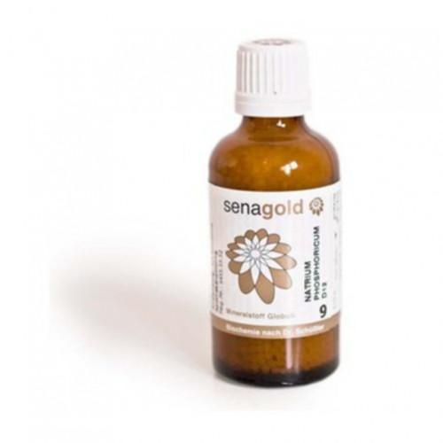 Biochemie Senagold Nr. 9 Natrium phosphoricum D 6, 50 G, Senagold Naturheilmittel GmbH
