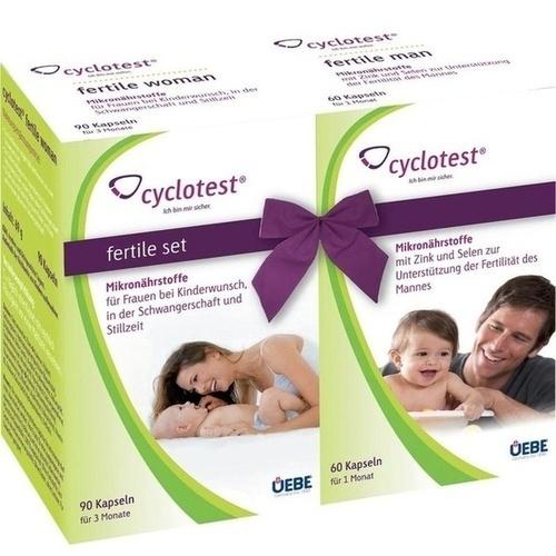 cyclotest fertile Set Mikronährstoffe, 1 P, Uebe Medical GmbH