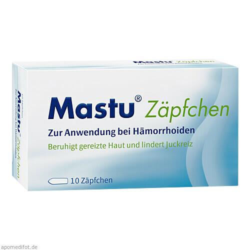 Mastu Zäpfchen, 10 ST, STADA GmbH