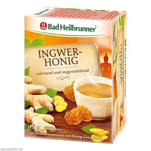 Bad Heilbrunner Ingwer-Honig Tee, 15 ST, Bad Heilbrunner Naturheilm. GmbH & Co. KG