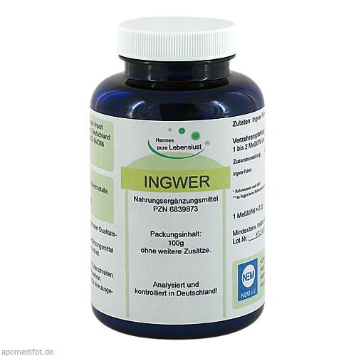 Ingwer, 100 G, G & M Naturwaren Import GmbH & Co. KG