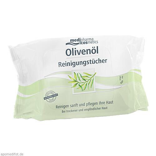 Olivenöl Reinigungstücher, 25 ST, Dr. Theiss Naturwaren GmbH
