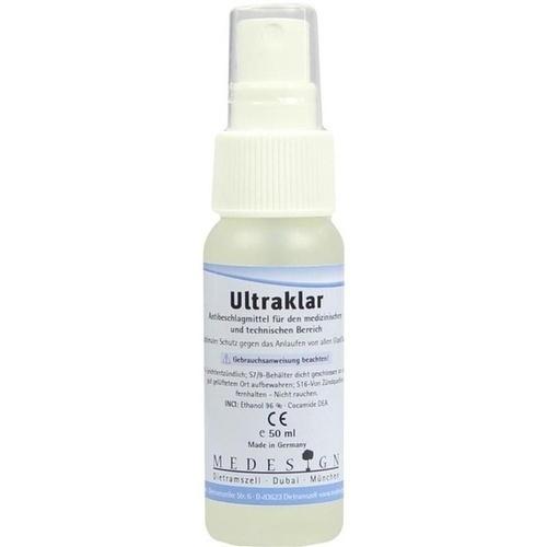 Ultraklar Antibeschlagmittel, 50 ML, Medesign I. C. GmbH