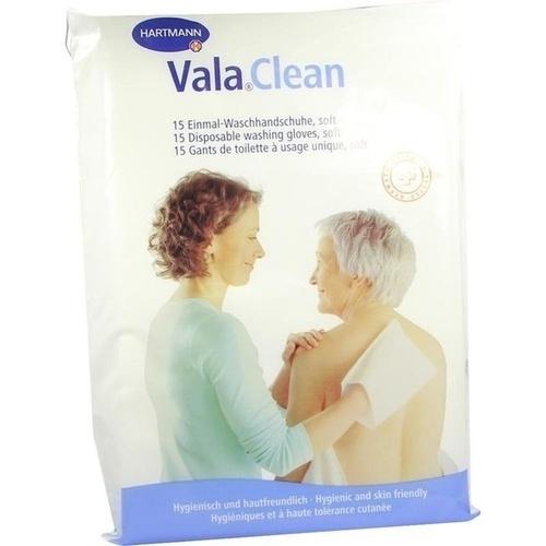 ValaClean soft Einmal Waschhandschuh, 15 ST, Paul Hartmann AG