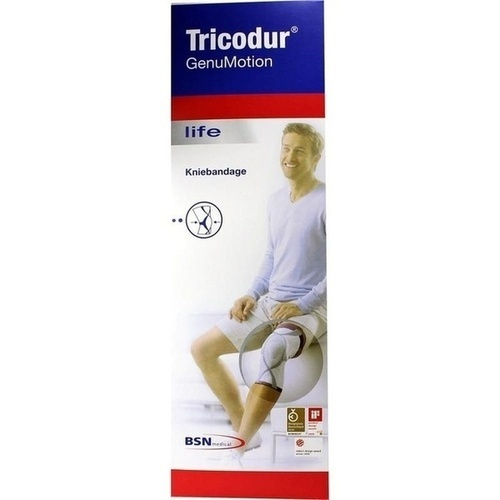 Tricodur GenuMotion Gr.S weiß, 1 ST, Bsn Medical GmbH