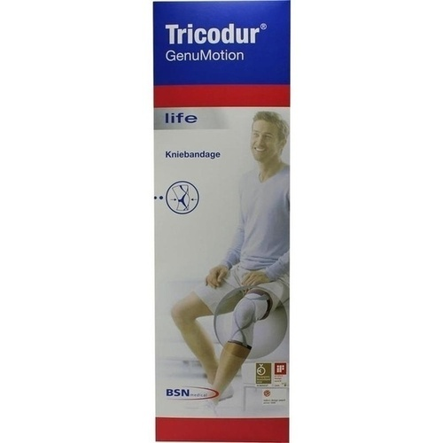 Tricodur GenuMotion Gr.M weiß, 1 ST, Bsn Medical GmbH