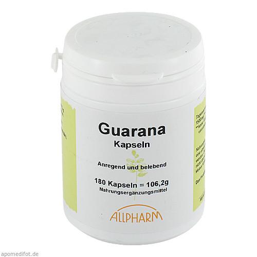 GUARANA, 180 ST, Allpharm Vertriebs GmbH