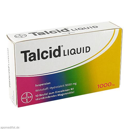 TALCID LIQUID, 10 ST, Bayer Vital GmbH