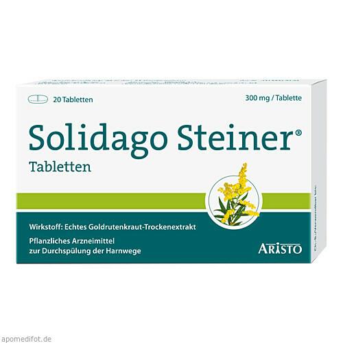 SOLIDAGO STEINER, 20 ST, Aristo Pharma GmbH