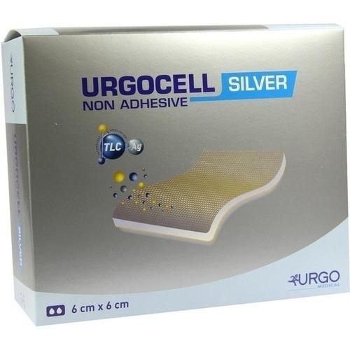 UrgoCell Silver non-adhesive 6x6cm, 10 ST, Urgo GmbH