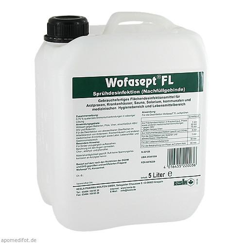 WOFASEPT FL, 5 L, Kesla Pharma Wolfen GmbH