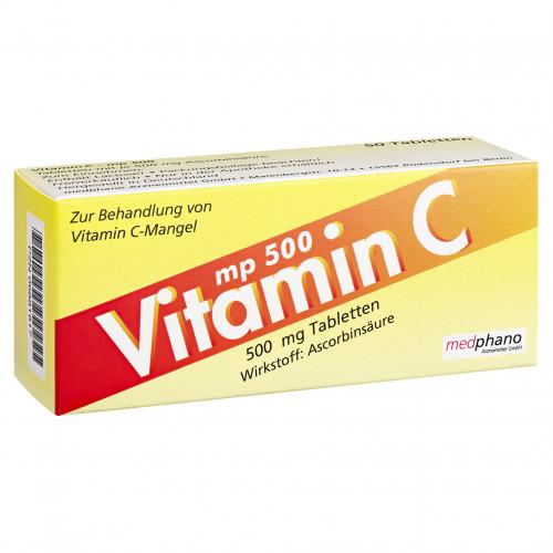VITAMIN C MP 500, 50 ST, Medphano Arzneimittel GmbH