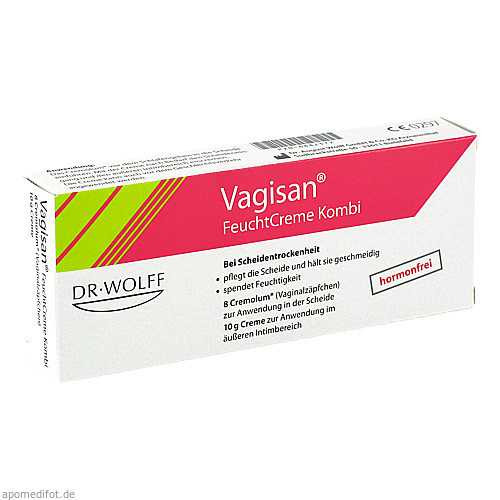 Vagisan FeuchtCreme Kombi 8 Ovula + 10g Creme, 1 P, Dr. August Wolff GmbH & Co. KG Arzneimittel