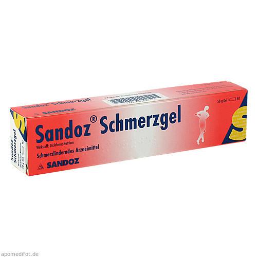 Sandoz Schmerzgel, 50 G, HEXAL AG