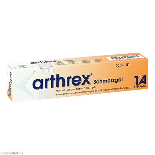Arthrex Schmerzgel, 50 G, 1 A Pharma GmbH