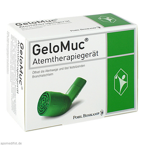 GeloMuc Atemtherapiegerät, 1 ST, G. Pohl-Boskamp GmbH & Co. KG