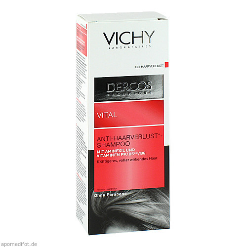 VICHY DERCOS Vital-Shampoo m.Aminexil, 200 ML, L'Oreal Deutschland GmbH