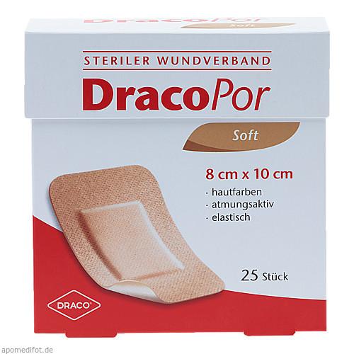 Dracopor Wundverband 10x8cm steril hautfarben, 25 ST, Dr. Ausbüttel & Co. GmbH
