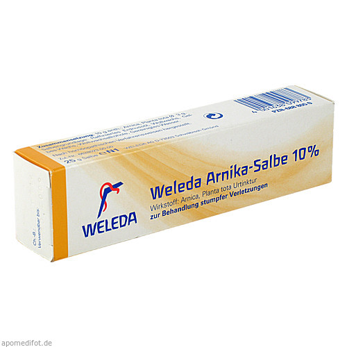 ARNIKA SALBE 10%, 25 G, Weleda AG